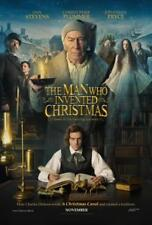 """THE MAN WHO INVENTED CHRISTMAS 27""""x40"""" D/S Original Movie Poster One Sheet 2017"""