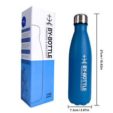Stainless Steel Water Bottle 500ml  Sport & Gym Drinks Insulated Flask Keep Cold