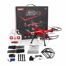 Syma X8HG Drone Altitude Hold Mode Headless 3D Flips RC Quadcopter with 8MP Cam
