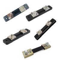 For Ammeter Panel Meter DC 75mV Current Shunt Resistor 10/20/30/50/100A HOT