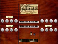 Virtual reed organ for Hauptwerk Estey Style T 10 ranks/2 manual and pedal