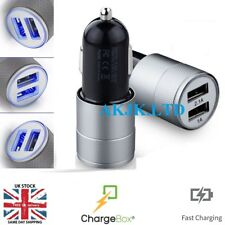 UNIVERSAL USB In Car Charger 12V-24V For High Speed Smart Phone & Tablet Gadget