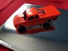 Hot Wheels Pick Up Truck 1998 Pro Stock Chevy S10 Neon Orange Toy Car Chevrolet