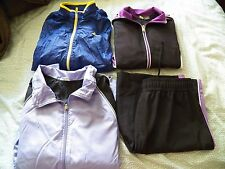 Womens Small S Workout Gear Track Suit Running Athletic Gear Jackets Lot Shorts