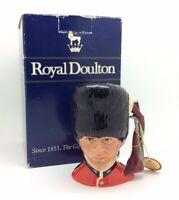 Vintage 1980s Royal Doulton Personaje Toby Jarra Guardia D6771 de Colección
