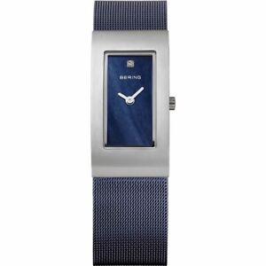 NEW Bering Damenuhr 10817-307 Dunkelblau Silber Uhr Damen Classic Armbanduhr