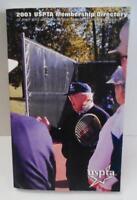 2001 USPTA MEMBERSHIP DIRECTORY of Men & Women Tennis Professionals Ppk BOOK