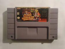 Super Mario RPG: Legend of the Seven Stars (Super Nintendo Entertainment) Rare