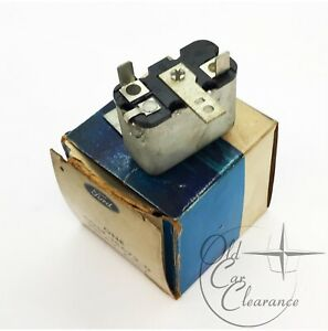 1966-1967 Lincoln Convertible Top and Deck Relay (C0SF15672D) NOS