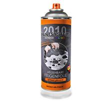 Felgenfolie schwarz glänzend 400ml - Sprühfolie Autofolie Flüssiggummi