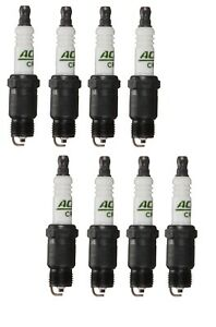 Set Of 8 Spark Plugs AcDelco For Chevy Excalibur Jeep Oldsmobile Pontiac V8