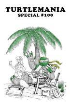 TEENAGE MUTANT NINJA TURTLES #100 VASQUEZ WHITE TURTLEMANIA VARIANT LTD TO 400