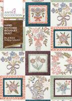 Hand Stitched Bouquet Quilt Anita Goodesign Embroidery Design Machine CD