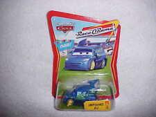 "Mattel Hw Disney Pixar Cars ""Impound Dj"" Race O Rama Chase Car - Vhtf - New"