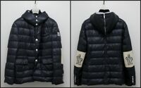 Authentic Moncler Gamme Bleu Quilted Down Tailored Jacket CERTILOGO Thom Browne