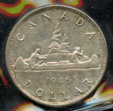 1946 Canada Silver Dollar - ICCS MS-60 Cert# UM575