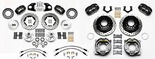 """Wilwood Disc Brake Kit,Cdp 1966-72 Charger,1970-72 Challenger,11"""" Drilled,P30"""