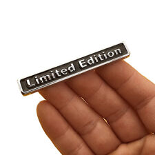 Car Sticker 3D Plating Metal LIMITED EDITION Logo Emblem Badge Decal Accessories