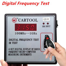 Digital Frequency Test Car IR Infrared Remote Key Frequency Tester 100MHz--1GHz