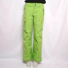 Patagonia Womens Gore Tex Ski Pants Bibs Green Nylon size S