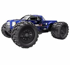 1:8  Landslide XTE RC Monster Truck 4WD Brushless Electric Motor 2.4GHz Blue New