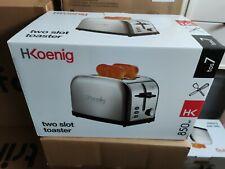 Edelstahl-Toaster H.Koenig TOS7  850 Watt statt 30?