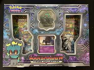 Pokemon Trading Card Game Marshadow Figure Collection Box - Factory Sealed