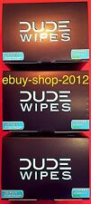 DUDE WIPES 3 BOX 30 Pack 🚽 $pecial! (90 Wipes) NEW! ebuy-shop-2012