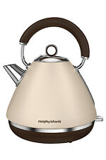 NEW Morphy Richards 102101 Accents Special Edition Pyramid Kettle: Sand