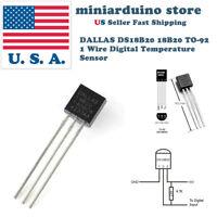 5pcs DALLAS DS18B20 18B20 TO-92 1 Wire Digital Temperature Sensor