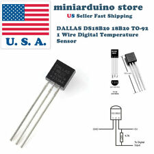5pcs DALLAS DS18B20 18B20 TO-92 1 Wire Digital Temperature Sensor