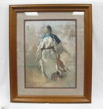 SHIELD OF HER HUSBAND by Howard Terpning Limited Edition Print Lithograph Art