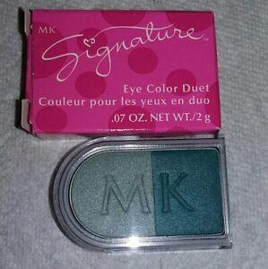 Mary Kay MK SIGNATURE EYE SHADOW DUET JADE RARE Fast Shipping!