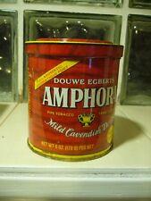 Douwe Egberts AMPHORA Mild Cavendish DOUX Pipe Tobacco Tin 6 OZ.
