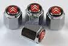 CITROEN quattro rosso nero bianco chiusura sicurezza valvola pneumatici