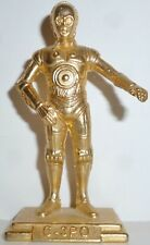 """GOLD C-3PO Star Wars Action Masters 2 1/2"""" Die-Cast Promotion Figure LOOSE 1994"""
