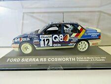IXO Altaya 1:43 Scale Diecast Model Ford Sierra RS Cosworth Monte Carlo 1991