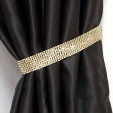 2x Diamante Crystal Tie Backs Curtains Voiles Tiebacks Holdbacks Home Decor New