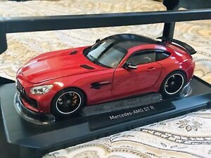 1:18 Rare Color Red Norev Mercedes Benz AMG Gt R GTR MINT IN BOX