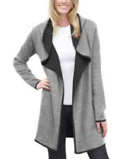 BNCI by Blanc Noir Ladies Wool Blend Cardigan Light Gray Size XL