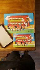 Vintage PEANUTS 100 piece Puzzle Complete Milton Bradley snoopy Charlie Brown