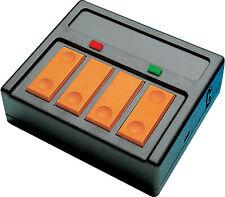 Weichenschalter mit LED Rückmeldung für EKW & DWW Roco 10526