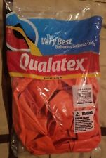 1 Bag Qualatex 24 inch Orange Balloons 25 per bag Great for party!  Helium/air