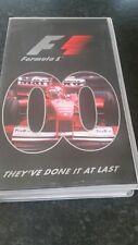 UFFICIALE FIA Formula 1 F1 1996 Stagione rivedere video VHS-Damon Hill-in buonissima condizione