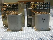 Western Electric 111C Audio Repeat Coils - Date Matched Pair 10V65