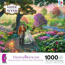 Thomas Kinkade WB Movie Classics Gone with the Wind 1000 Piece Puzzle Jigsaw New