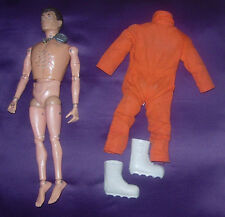 HASBRO  GI JOE  TALKING ASTRONAUT  C. 1970  BROWN HAIR  MAN OF ACTION