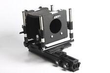 Linhof Kardan TE 4x5/9x12 Großformatkamera mit Mattscheibenrückteil und Platte