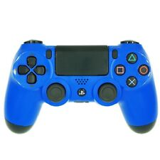 Sony Playstation 4 Dualshock  PS4 Wireless Blue Controller Refurbished