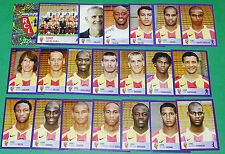 PANINI FOOTBALL FOOT 2006 RC LENS BOLLAERT SANG &OR RCL COMPLET FRANCE 2005-2006